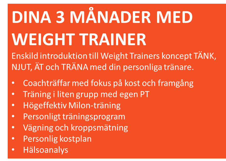 Weight trainer på Club Active